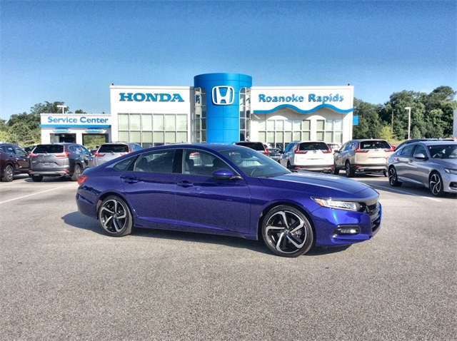 Pre-Owned 2019 Honda Accord Sport - CERTIFIED