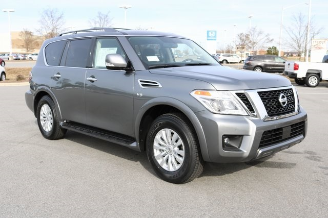 New 2019 Nissan Armada Sv 4d Sport Utility In Roanoke Rapids N11604
