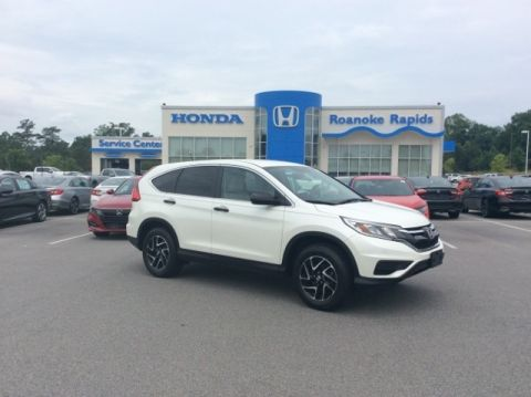 Pre-Owned 2016 Honda CR-V SE - Honda CERTIFIED